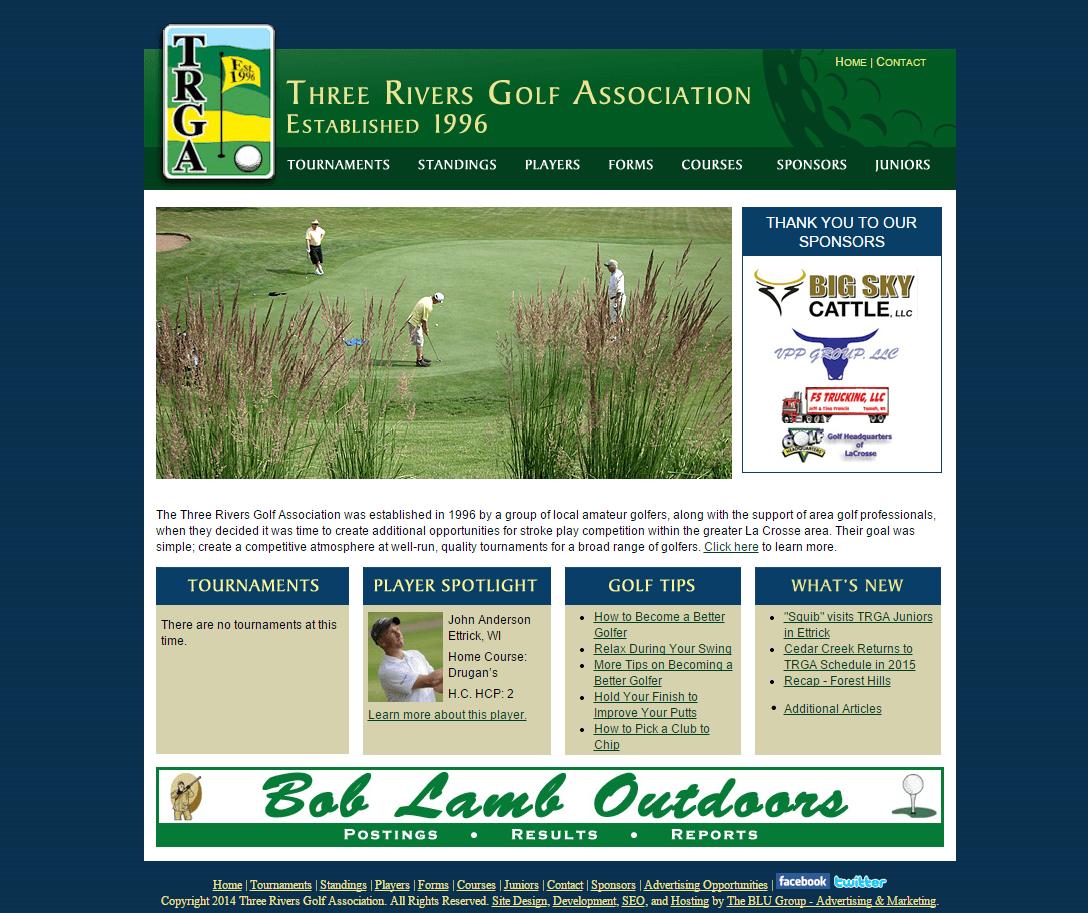 Three Rivers Golf Association Website