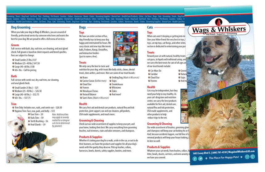 Wags and Whiskers General Brochure