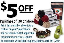 Wags and Whiskers Coupon