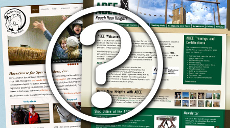 Website design and development questions