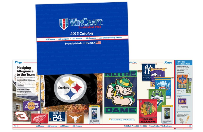 WinCraft Catalog - Team Flags and Outdoor Banners