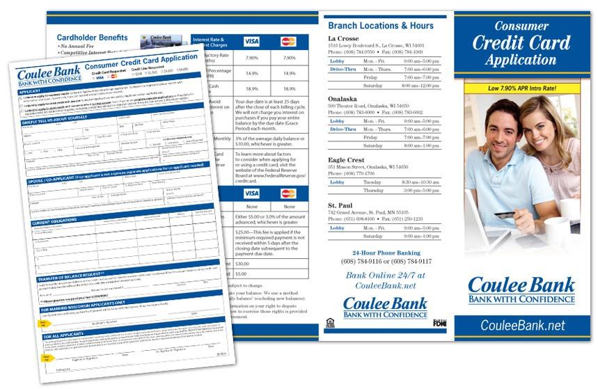 Coulee Bank CC App Brochure