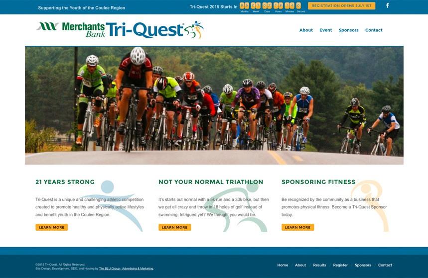 Tri-Quest: New Website Design