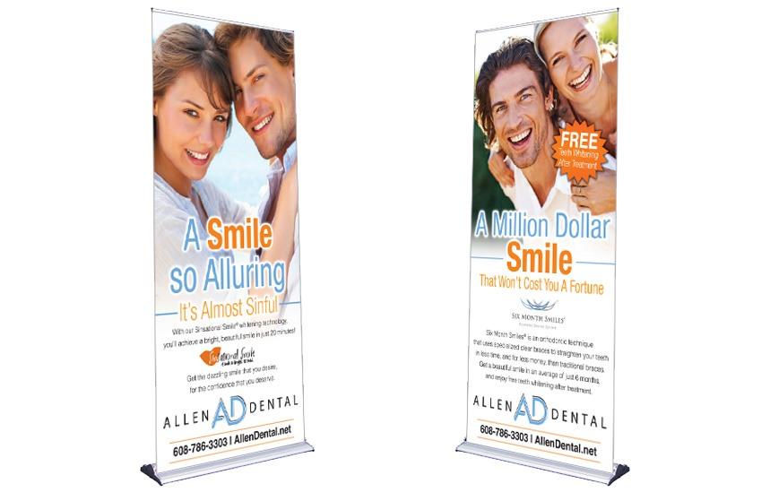 Allen Dental - Tradeshow Banners
