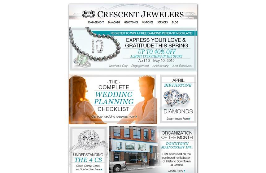 Crescent Jewelers - E-Newsletter