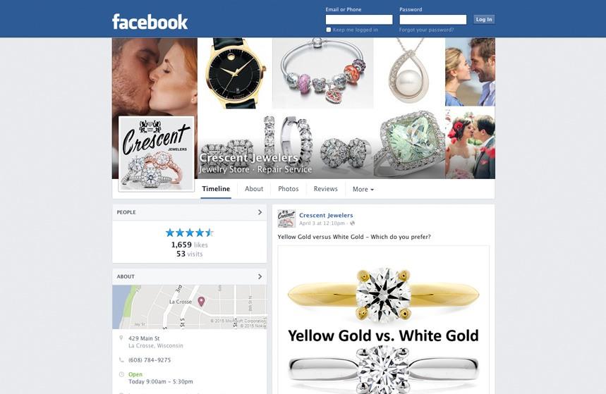 Crescent Jewelers - Facebook