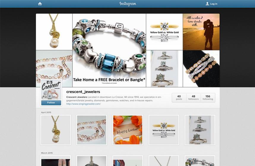 Crescent Jewelers - Instagram