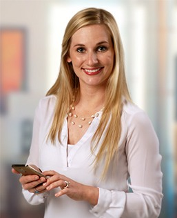Liz Johnston, Account Executive/Social Media Maven, The BLU Group Advertising & Marketing