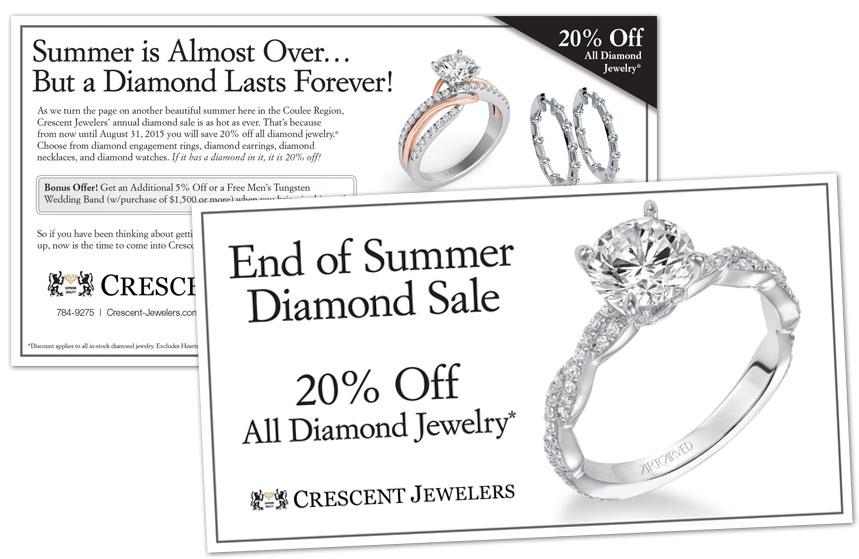 Crescent Jewelers - Direct Mail