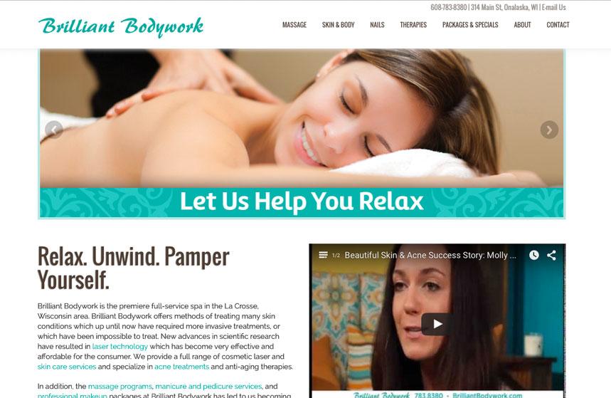Brilliant Bodywork Website