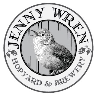 Jenny Wren - Grayscale Logo Option