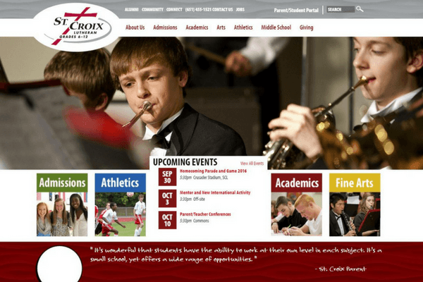 Education Facility & School Website Design