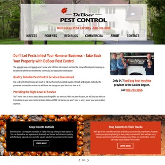 Testimonial from Jimmer DeBoer at DeBoer Pest Control