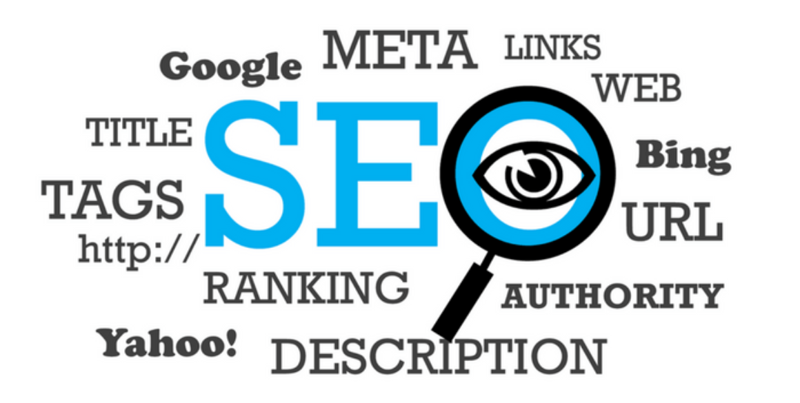 Graphic of SEO words