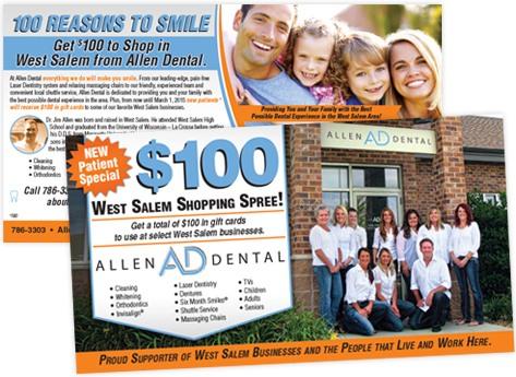directMail dentist allenDental customerSpecial