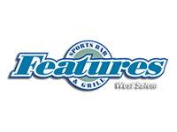 Features Sportsbar and Grill