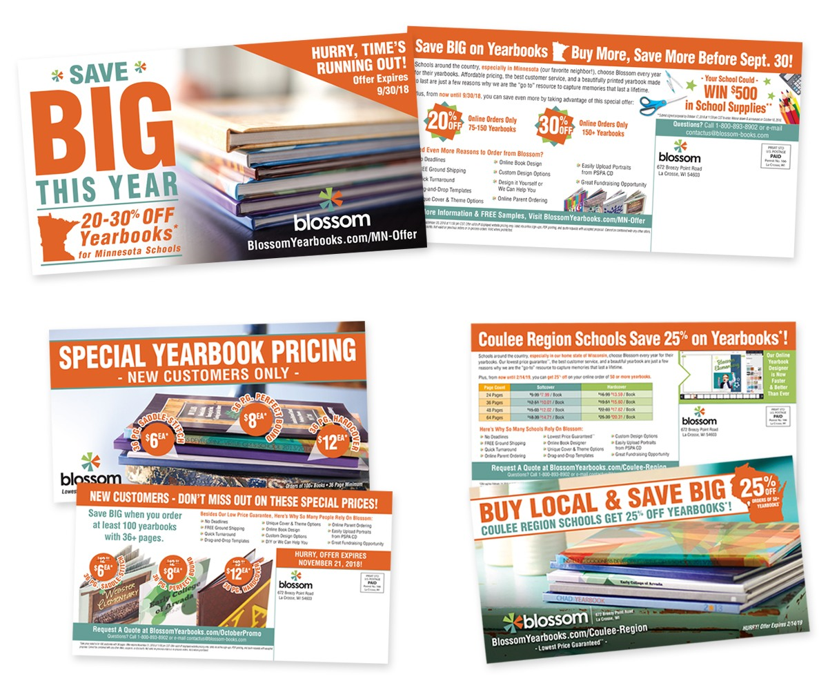 Blossom - Direct Mail Examples