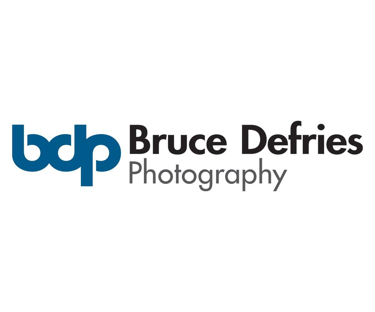The BLÜ Group Client: Bruce Defries Photography - Photographer Logo
