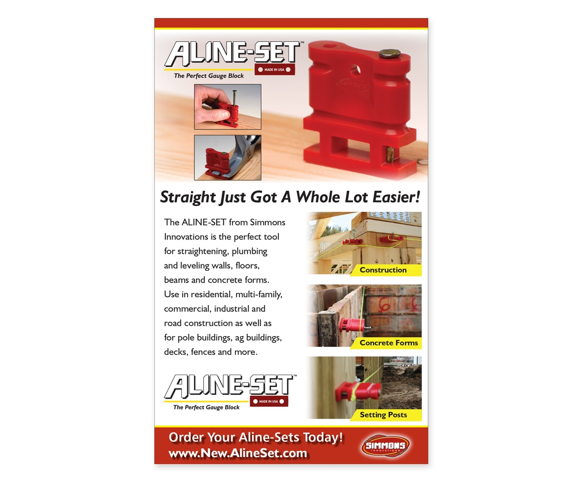 The BLÜ Group Client: Aline-Set - Straight Just Got A Whole Lot Easier! - Print Ad