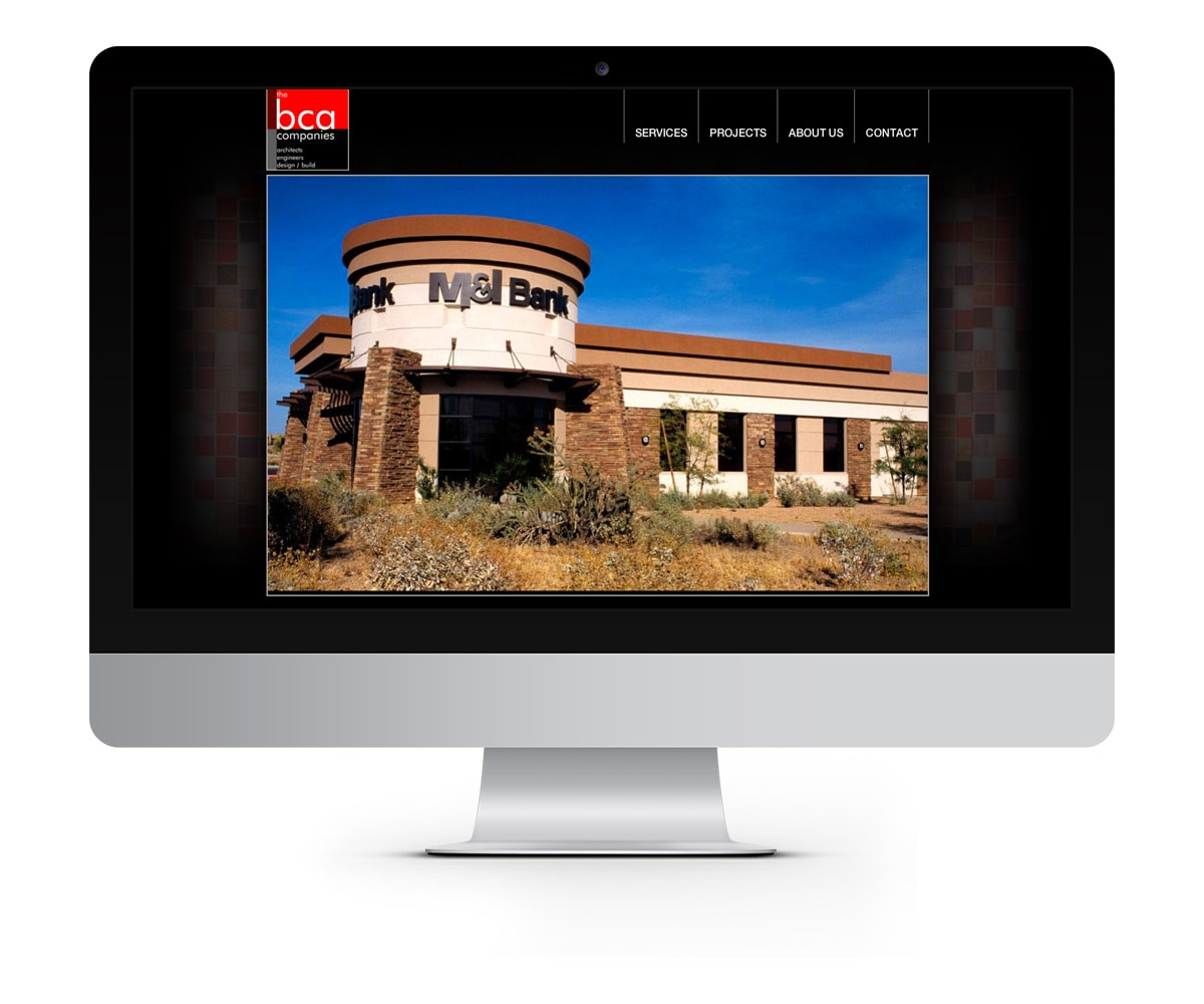 The BLÜ Group Client: BCA Companies - Architect and Engineering Website
