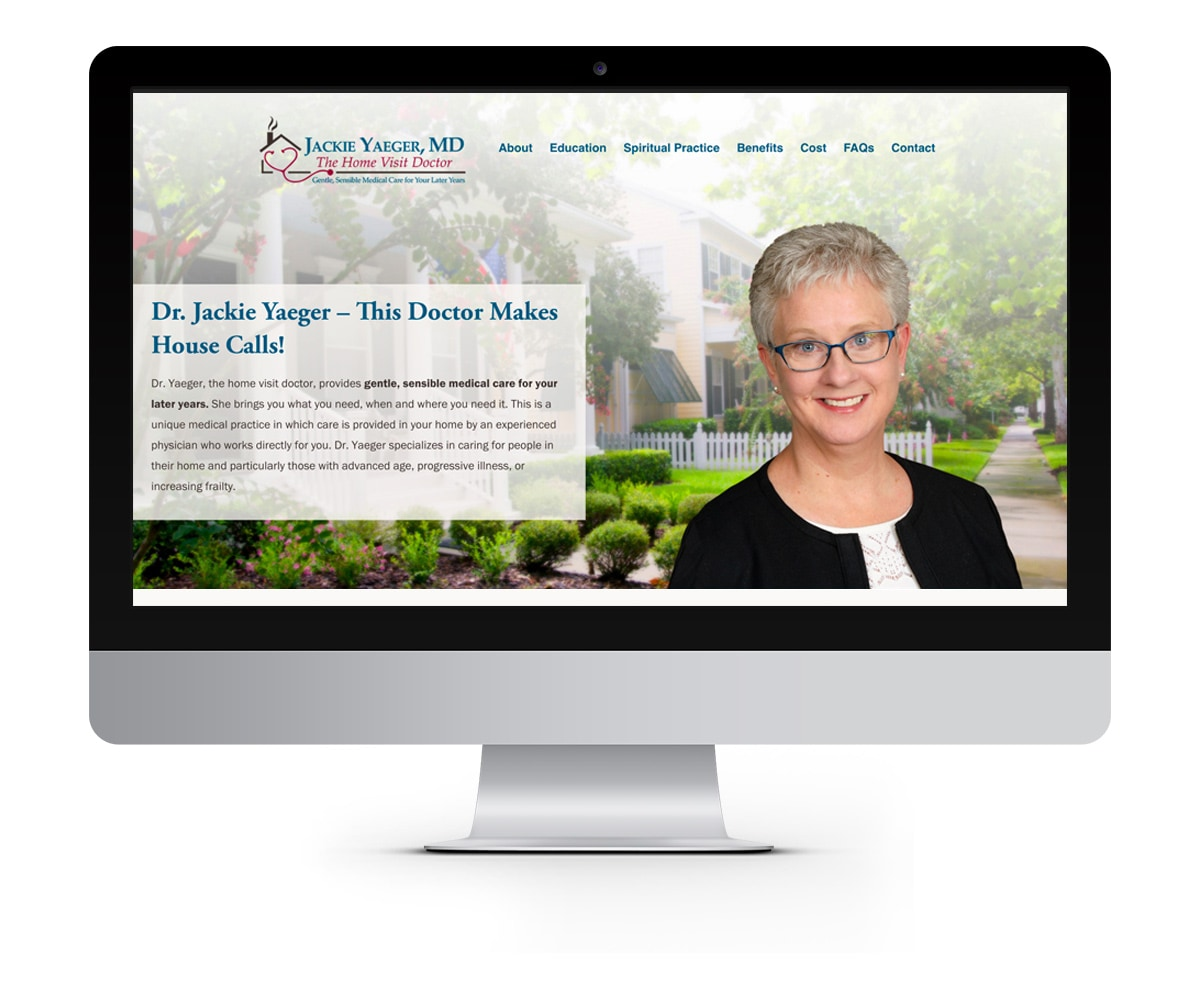 The BLÜ Group Client: Dr. Jackie Yaeger, MD - Healthcare Website
