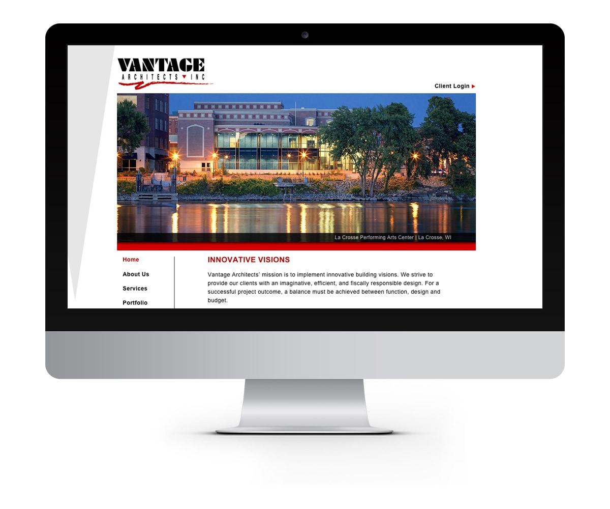 The BLÜ Group Client: Vantage Architects - Website