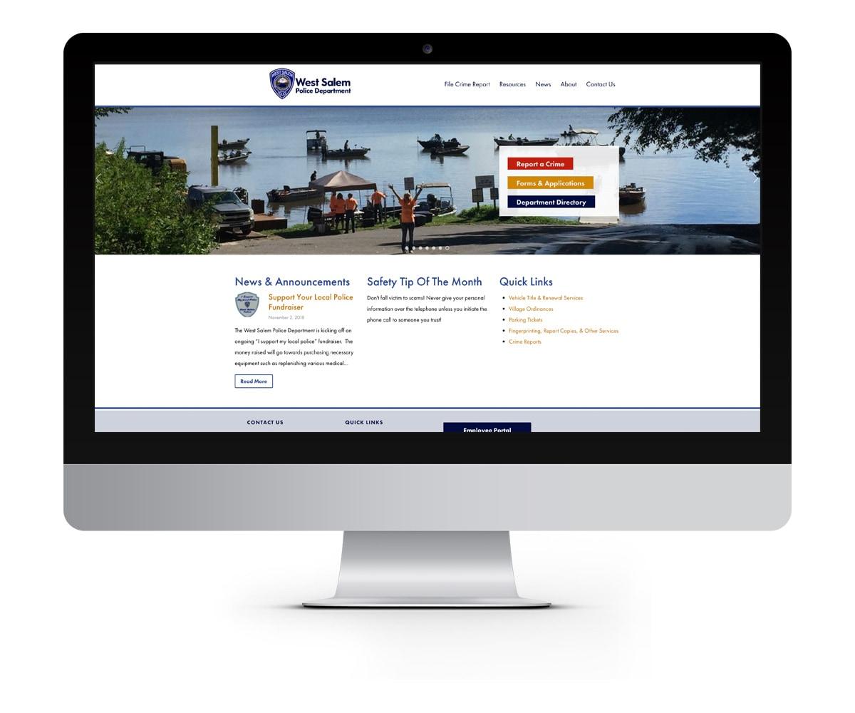 The BLÜ Group Client: West Salem Police Department - Website